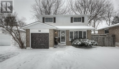 Real Estate -   56 MARKWOOD Drive, Kitchener, Ontario -